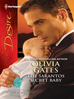 cover image of The Sarantos Secret Baby