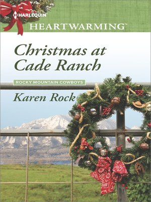 cover image of Christmas at Cade Ranch--A Clean Romance