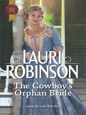 cover image of The Cowboy's Orphan Bride