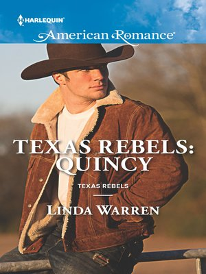 cover image of Texas Rebels: Quincy