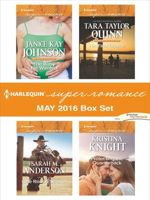 cover image of Harlequin Superromance May 2016 Box Set
