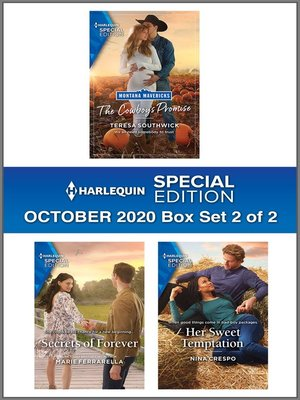 cover image of Harlequin Special Edition October 2020--Box Set 2 of 2