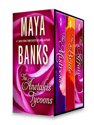 cover image of Maya Banks the Anetakis Tycoons Box Set