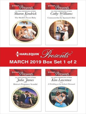 cover image of Harlequin Presents--March 2019--Box Set 1 of 2