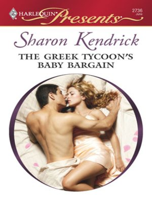 cover image of The Greek Tycoon's Baby Bargain