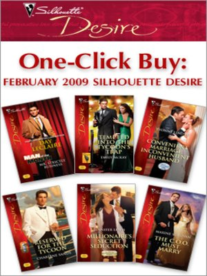 cover image of February 2009 Silhouette Desire
