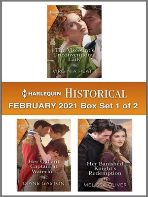 cover image of Harlequin Historical February 2021--Box Set 1 of 2