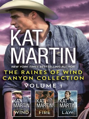 cover image of The Raines of Wind Canyon Collection, Volume 1