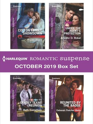 cover image of Harlequin Romantic Suspense October 2019 Box Set