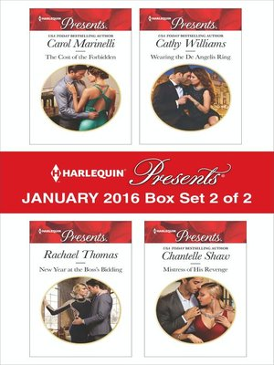 cover image of Harlequin Presents January 2016, Box Set 2 of 2