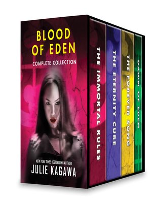 cover image of Julie Kagawa Blood of Eden Complete Collection