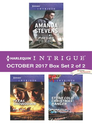 cover image of Harlequin Intrigue October 2017--Box Set 2 of 2