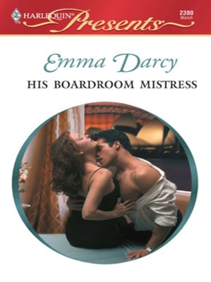 cover image of His Boardroom Mistress