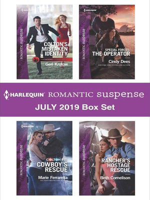 cover image of Harlequin Romantic Suspense July 2019 Box Set