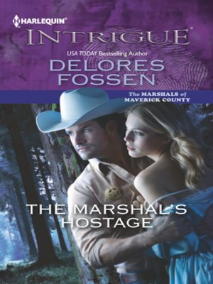 cover image of The Marshal's Hostage