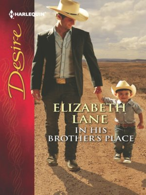 cover image of In His Brother's Place