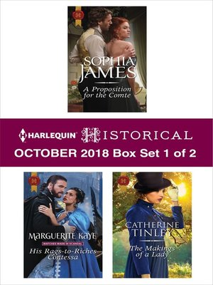 cover image of Harlequin Historical October 2018, Box Set 1 of 2