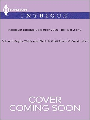 cover image of Harlequin Intrigue December 2016, Box Set 2 of 2