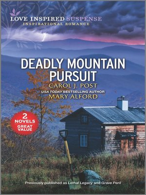 cover image of Deadly Mountain Pursuit