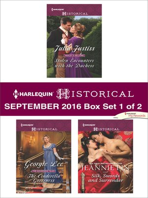 cover image of Harlequin Historical September 2016, Box Set 1 of 2
