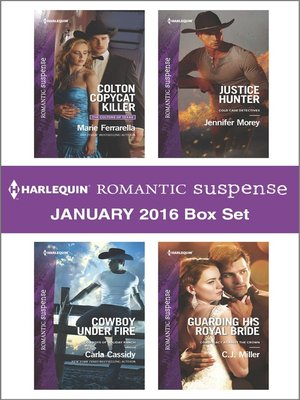 cover image of Harlequin Romantic Suspense January 2016  Box Set