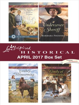 cover image of Love Inspired Historical April 2017 Box Set