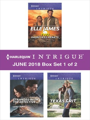 cover image of Harlequin Intrigue June 2018--Box Set 1 of 2