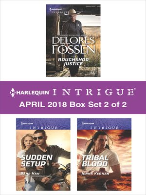 cover image of Harlequin Intrigue April 2018--Box Set 2 of 2