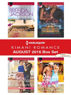 cover image of Harlequin Kimani Romance August 2016 Box Set