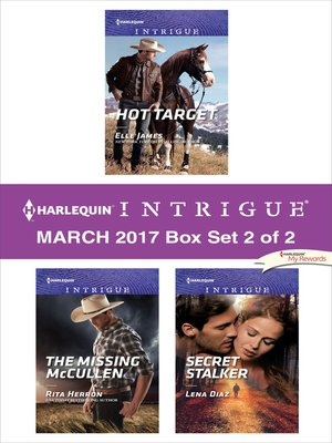 cover image of Harlequin Intrigue March 2017, Box Set 2 of 2