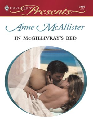 cover image of In McGillivray's Bed