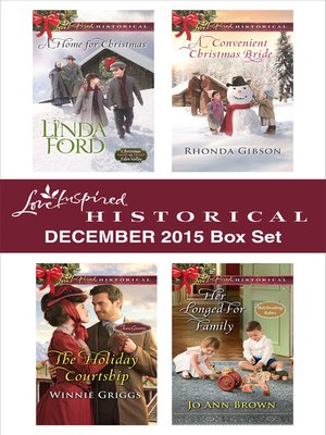 cover image of Love Inspired Historical December 2015 Box Set
