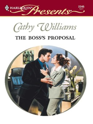 cover image of The Boss's Proposal