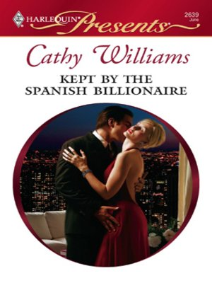 cover image of Kept by the Spanish Billionaire