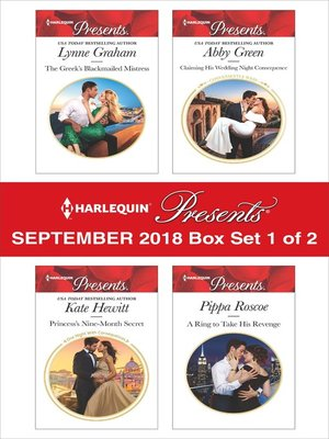 cover image of Harlequin Presents September 2018--Box Set 1 of 2
