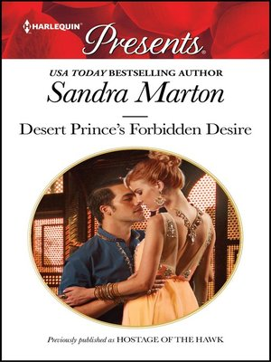 cover image of Desert Prince's Forbidden Desire
