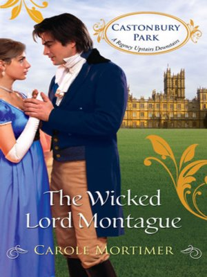 cover image of The Wicked Lord Montague