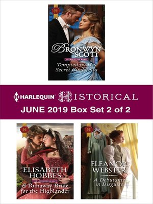 cover image of Harlequin Historical June 2019, Box Set 2 of 2