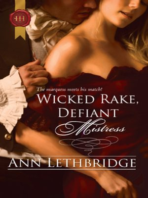 cover image of Wicked Rake, Defiant Mistress