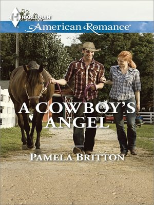 cover image of A Cowboy's Angel