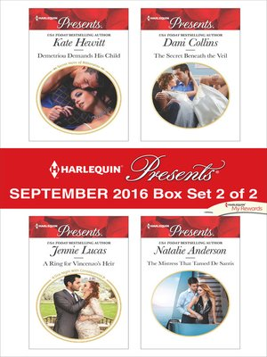 cover image of Harlequin Presents September 2016, Box Set 2 of 2