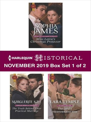 cover image of Harlequin Historical November 2019--Box Set 1 of 2