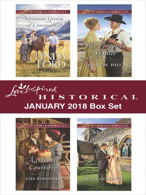 cover image of Love Inspired Historical January 2018 Box Set