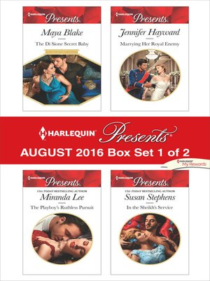 cover image of Harlequin Presents August 2016--Box Set 1 of 2