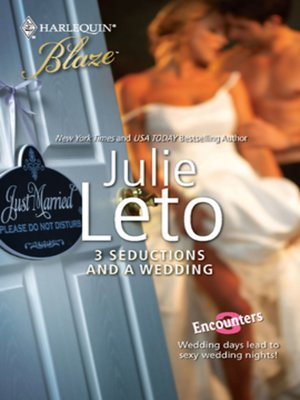 cover image of 3 Seductions and a Wedding