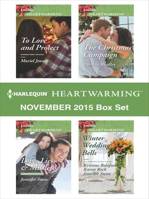 cover image of Harlequin Heartwarming November 2015 Box Set