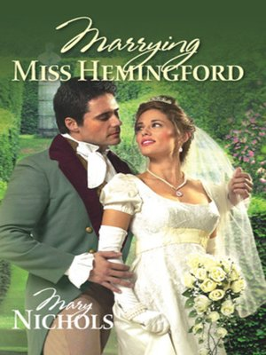 cover image of Marrying Miss Hemingford