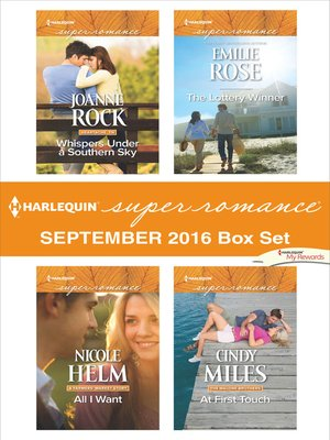cover image of Harlequin Superromance September 2016 Box Set