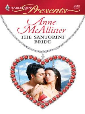 cover image of The Santorini Bride