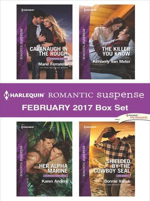 cover image of Harlequin Romantic Suspense February 2017 Box Set